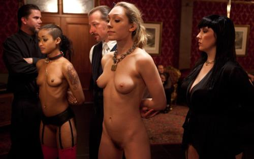 Dylan, Lily LaBeau, Krysta Kaos, Skin Diamond - Spoiled slave is challenged by an eager trainee to a gambit of prowess, protocol, and sex (SD)