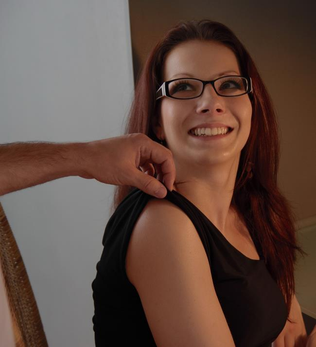 SheIsNerdy.com/DirtyFlix.com - Milana- Tattooed Nerdy Chick Fucked Good [20 ...