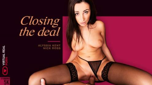 Alyssia Kent - Closing the deal (07.03.2019/VirtualRealPorn.com/3D/VR/UltraHD 4K/2160p)