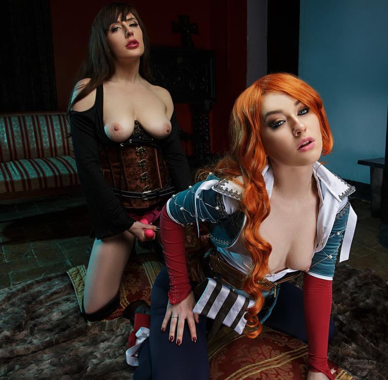Vrcosplayx: The Witcher: Yen,Triss A XXX Parody - Misha Cross, Samantha Bentley [2018] (UltraHD 2K 1440p)