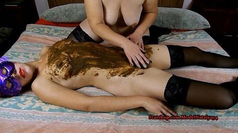 ModelNatalya94 - We love to massage each other (11.03.2019/ScatShop.com/Scat/FullHD/1080p)