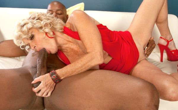 Georgette Parks - Big Black Cock Makes Georgette Cum Hard! (2019/SD)