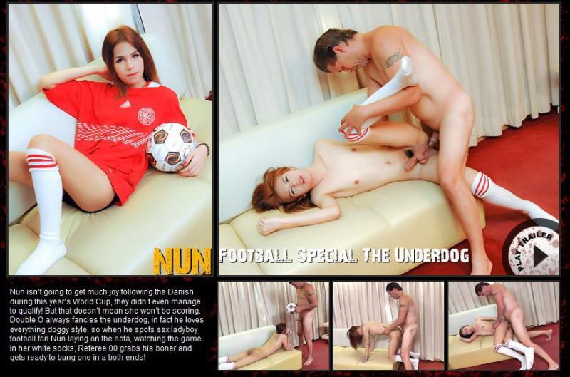 ExtremeLadyboys: Football Special The Underdog - Nun [2018] (HD 720p)