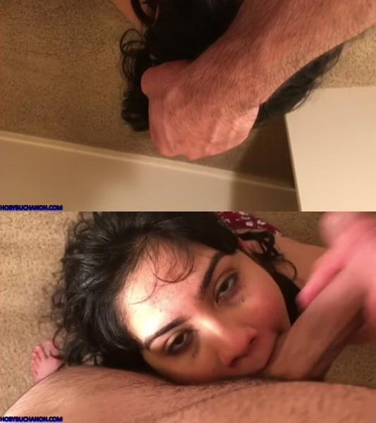 Hoby Buchanon - Elyce Ferrera Sloppy Gagging POV Face Fuck (2019/HD)
