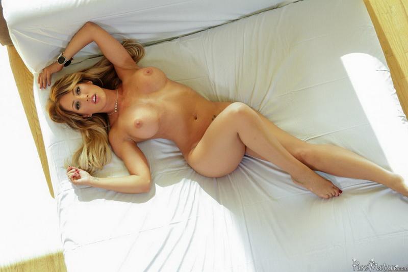 PureMature.com - Capri Cavanni - Cock Milking [SD 480p]
