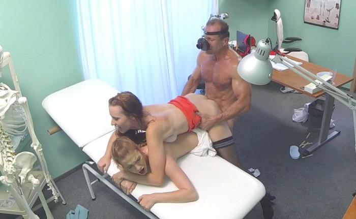 Chelsy Sun, Alexis Crystal - Hot nurse joins doctor and his sexy patient for threesome (FullHD 1080p) - FakeHospital - [2019]