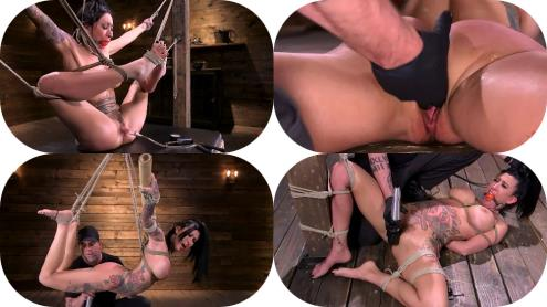 Lily Lane - Tattooed Slut Brutalized in Bondage and has Squirting Orgasms [SD, 540p] [Hogtied.com, Kink.com]