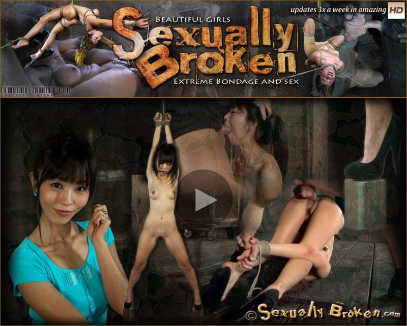 [SexuallyBroken] - Marica Hase, Matt Williams - It turns out Japanese girls really do sound like Anime when you brutally fucked them in bondage! (2019 / HD 720p)