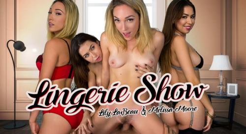 Lily LaBeau, Melissa Moore - Lingerie Show (FullHD)