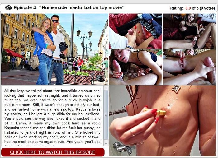 [WTFPass] - Megan - Homemade masturbation toy movie (2019 / SD 432p)