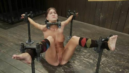Alicia Stone-Matt Williams - Brutally bound, foot caned and made to cum over and over!