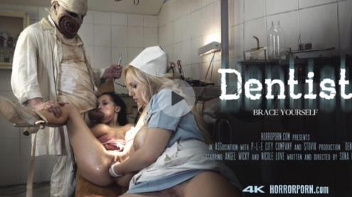 ANGEL WICKY, NICOLE LOVE - DANTIST [FullHD, 1080p] [HorrorPorn.com]