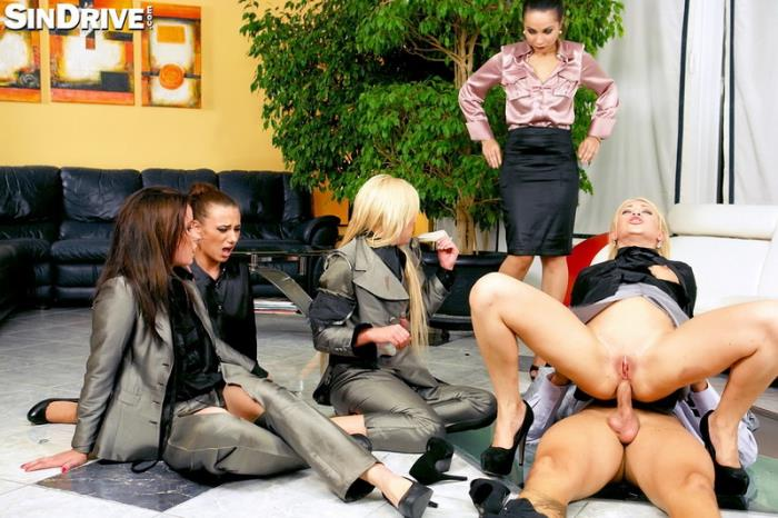 Aurelly Rebel, Hannah Sweet, Minnie, Lindsey Olsen, Angie Koks - Business Babes Ripping, Fighting, and Fucking Their Way Into The Cum Play Club (2013) [SD/540p/MP4/662 MB] by Utrodobroe