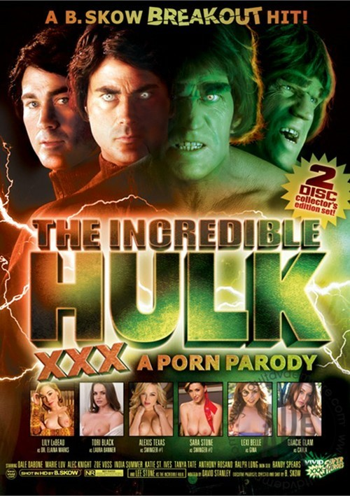 The Incredible Hulk XXX: A Porn Parody [SD 480p] 2019