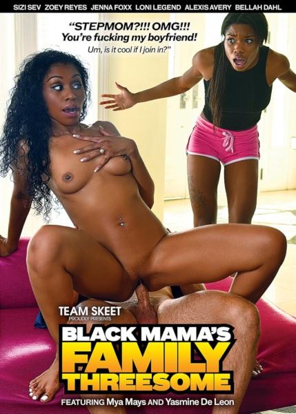 Семейный тройничок с черными мамочками / Black Mamas Family Threesome (2019/FullHD)