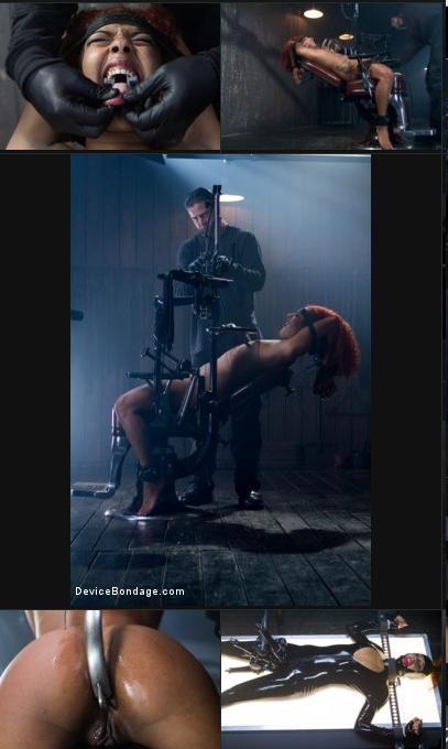 DeviceBondage.com/Kink.com - Daisy Ducati- Latex Slut suffers in brutal dev ...