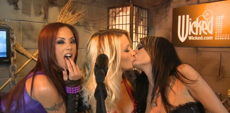 Alektra Blue, Jessica Drake, Kaylani Lei - Wicked Live 1 (Wicked) [HD 720p]