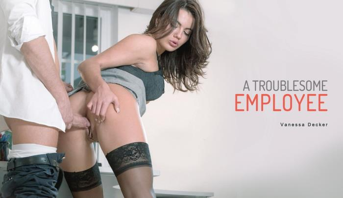 Vanessa Decker - A Troublesome Employee (FullHD 1080p) - Babes - [2019]