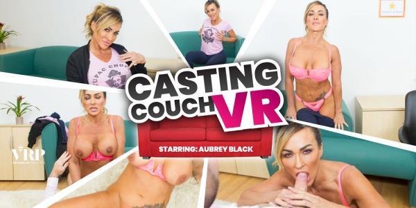 Aubrey Black - Casting Couch VR (2019/UltraHD 2K)