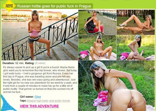 Gina Gerson - Russian hottie goes for public fuck in Prague (SD)