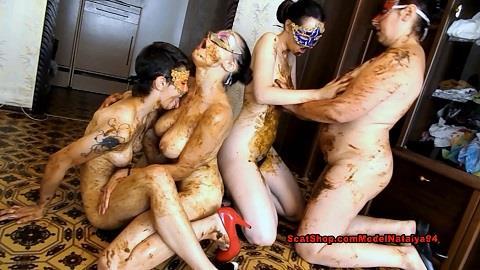 ModelNatalya94 - Dirty lesbian show from three girls (FullHD 1080p)