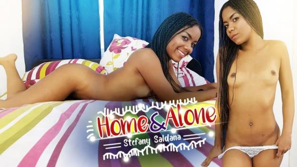 Stefany Saldana - Home and Alone [UltraHD 2K 1500p] 2019