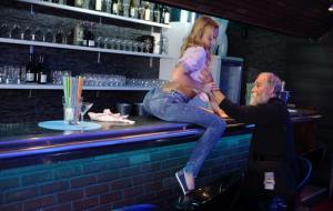 Rebecca Black aka Rebeka Black - Good barman on counter (2019/SD)