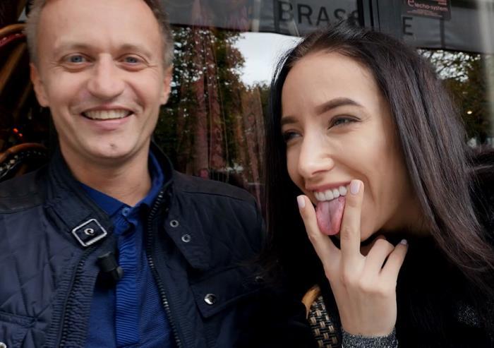 Lola Bulgari - Alina, 21ans, decouvre la France ! [FullHD 1080p]