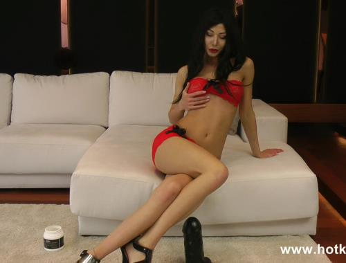 HotKinkyJo - New destruction with the fuck machine (FullHD)