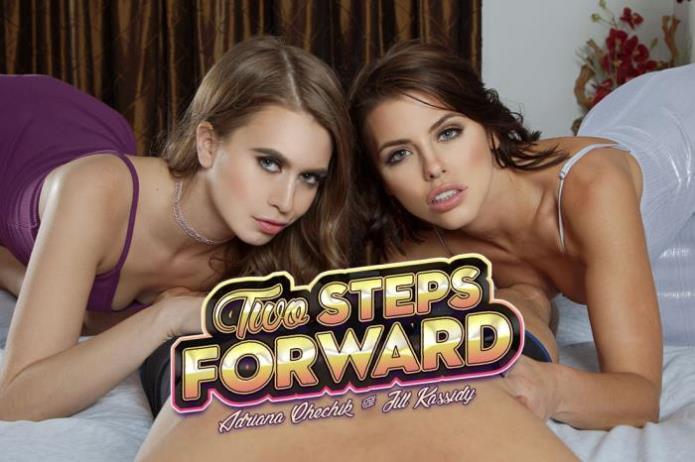 Two Steps Forward / Adriana Chechik, Jill Kassidy / 23-04-2019 [3D/UltraHD 2K/1440p/MP4/3.54 GB] by XnotX