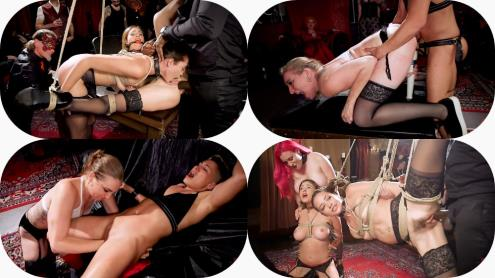 Aiden Starr, Rob Piper, Krissy Lynn, Avi Love - Teen Whore Trained in Anal Bondage By MILF Sex Servant (06.04.2019/TheUpperFloor.com, Kink.com/SD/540p)