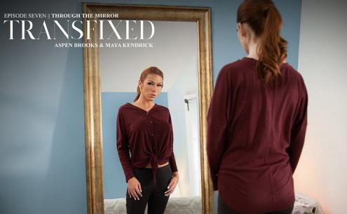 Maya Kendrick, Aspen Brooks - Through The Mirror [HD, 720p] [Transfixed.com, AdultTime.com]