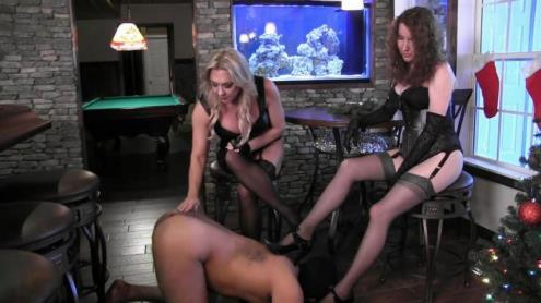 Two Mistresses - Shoe Worship Spanking [HD, 720p] [AynRules.com, Clips4sale.com]