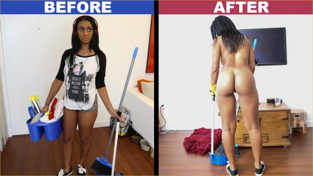 MyDirtyMaid/BangBros.com - Arianna Knight - Maid ended up cleaning my dick [HD 720p]