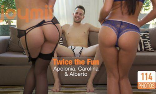 Apolonia, Carolina Abril - Twice the Fun