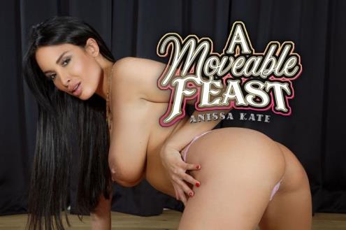 Anissa Kate - A Moveable Feast (12.04.2019/BaDoinkVR.com/3D/VR/UltraHD 2K/1920p)