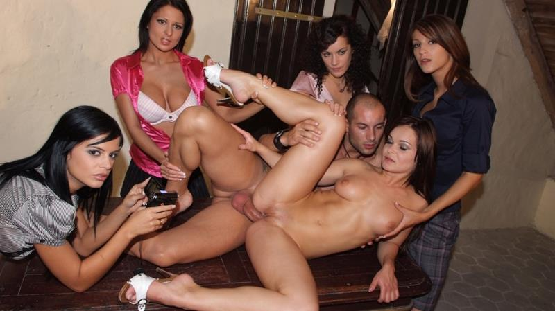 Mia Vendome, Black Angelika, Penelope Tiger, Jenny Baby, Allison: 5 girls for a hard lesson about the men anatomy (FullHD / 1080p / 2019) [DorcelClub]