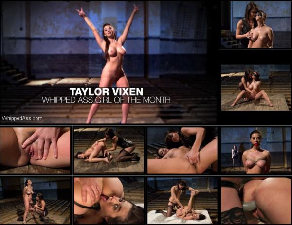 Bobbi Starr, Taylor Vixen - WHIPPED ASS GIRL OF THE MONTH APRIL 2012 [HD 720p] 2019