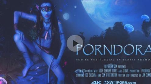 Hoe Saldana, Cum Worthington - Porndora (Association With Stovik Productions) (15.04.2019/Movieporn.com/FullHD/1080p)