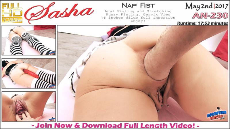 ArgentinaNaked.com - Sasha - Nap Fist [FullHD 1080p]