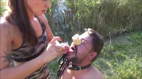 Lady Asmodina - Lektion piggy trampling..a outdoor game [HD, 720p] [Clips4sale.com]