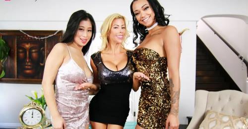 Alexis Fawx,Harley Dean,Jade Kush - New Years Treats Part 2