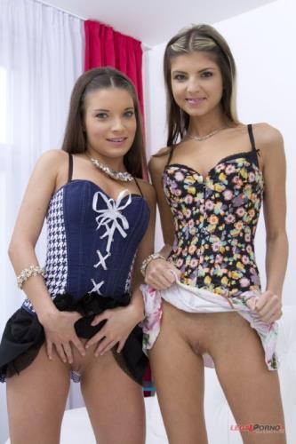 Gina Gerson, Anita Bellini - Hot euro sluts anal DP gapes SZ6771 (HD)