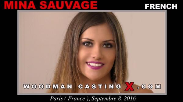 Mina Sauvage: Casting Hard (SD / 480p / 2019) [WoodmanCastingX]