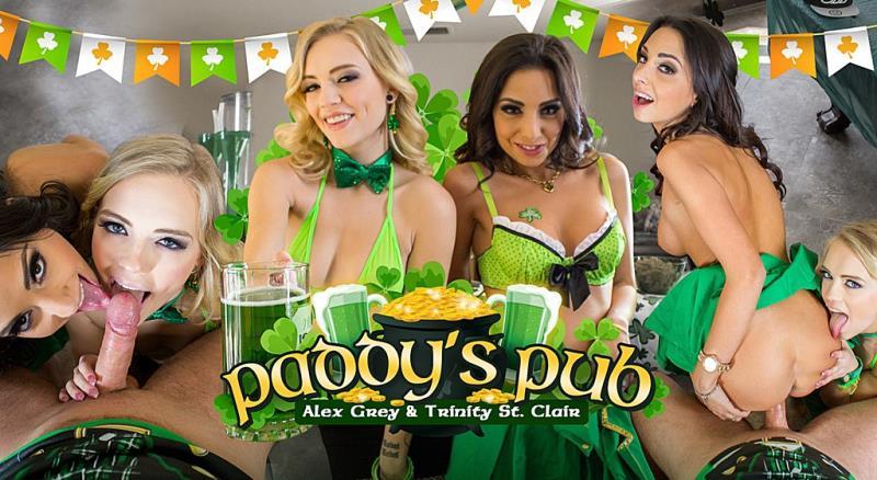 Alex Grey: Paddy's Pub (FullHD / 1080p / 2019) [WankzVR]