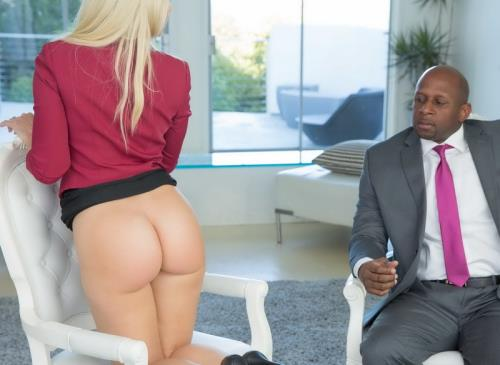 Anikka Albrite - Business Blonde Wife Ass Fucked By a BBC (FullHD)