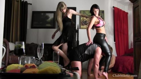 Ball Busting, Face Slapping Queens [FullHD, 1080p] [Clubstiletto.com]