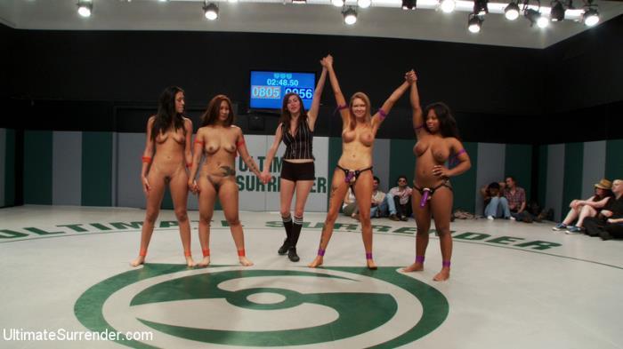 UltimateSurrender.com/Kink.com - DragonLily, Rain DeGrey, Lyla Storm, Yasmine Loven - Crazy 5 girl orgy!! [2019 HD] (Femdom, Fisting, StrapOn, Girls Fight, Toy Play, Hardcore)