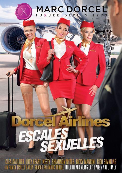 Dorcel Airlines - escales sexuelles / Sexual Stopovers [Liselle Bailey, Marc Dorcel / WEB-DL / 540p]