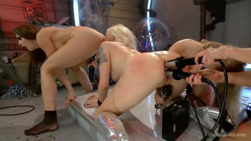 Lorelei Lee, Aiden Starr, Chanel Preston, Ariel X - BARBARELLA vs the Electric Dolls [HD, 720p] [ElectroSluts.com, Kink.com]